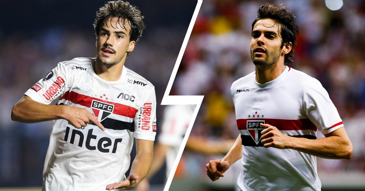 Igor -Gomes-kaka-comparison