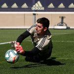 Courtois_training_return_coronavirus