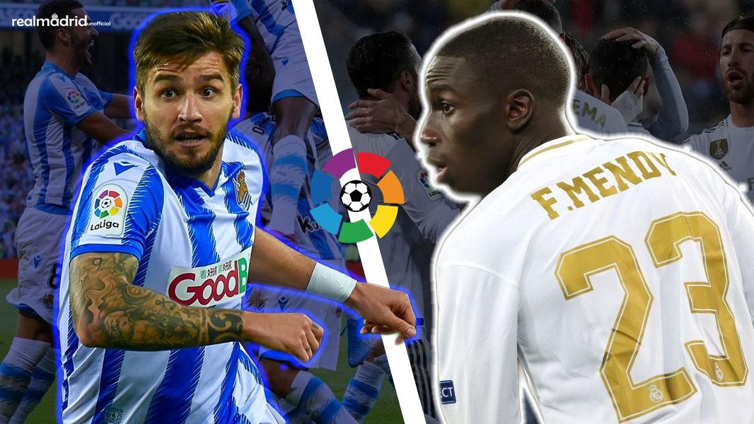 PORTU_vs_FERLAND_MENDY_Real_Sociedad_Real_Madrid