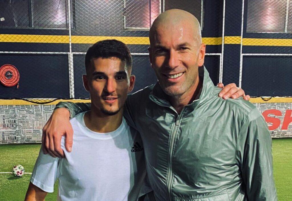 Houssem-Aouar-Zidane