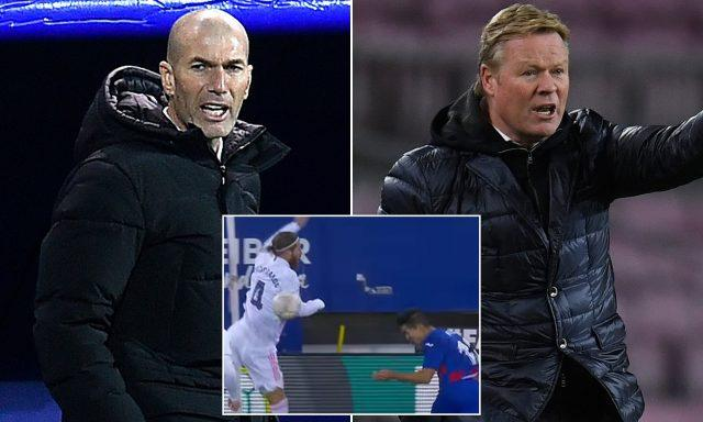 zidane-annoyed-koeman-comments