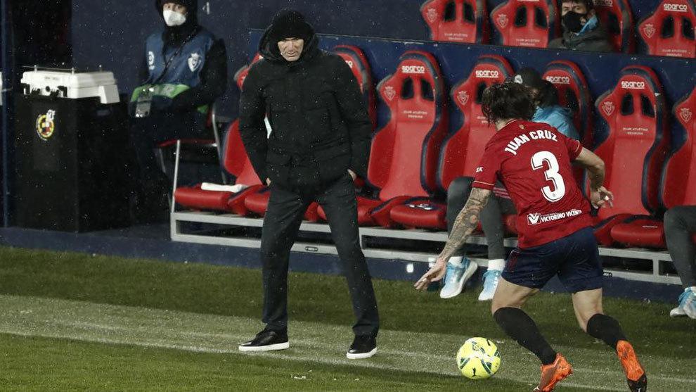 Zidane-Osasuna